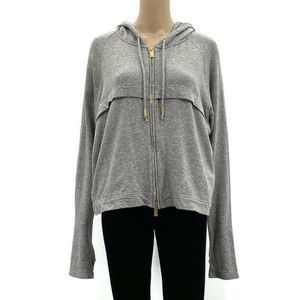 Ethona Cropped Divine Zip Hoodie French Terry